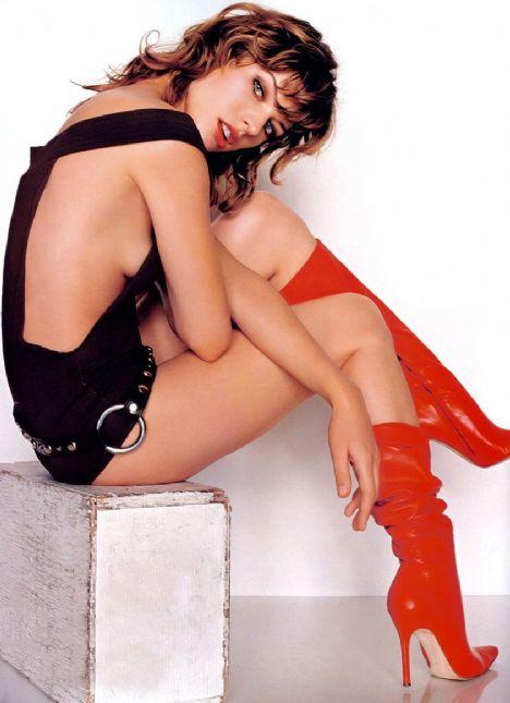 Milla Jovovich - '10 parmağımda 10 marifet var'